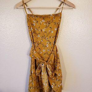Yellow SHEIN summer dress